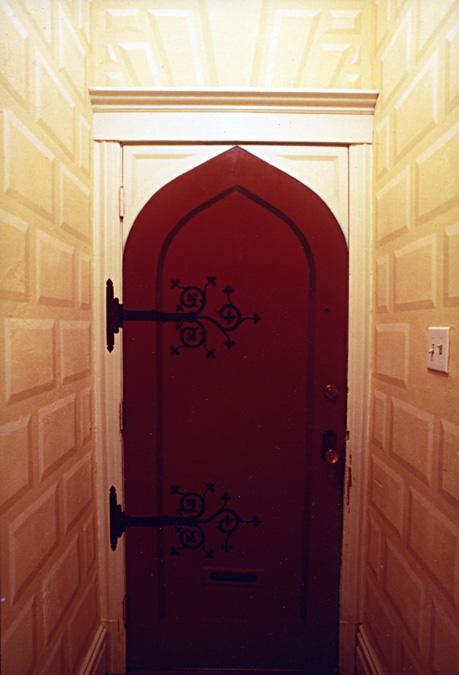 Tromp L\\u0027oeil Gothic Door & Gothic Door Hinges \u0026 DECORATIVE FANCY BLACK ANTIQUE CAST IRON ... Pezcame.Com